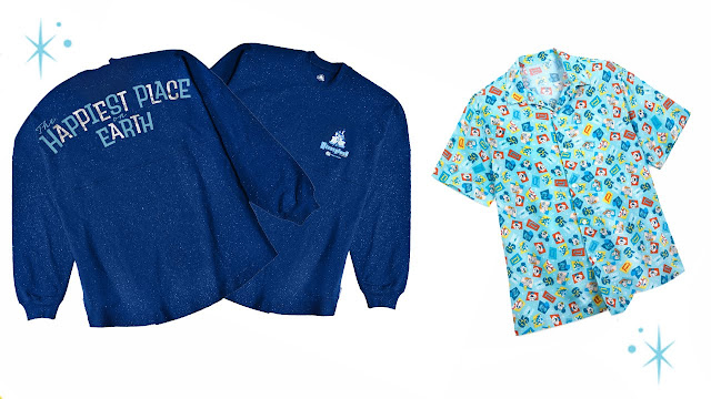 Disneyland Park 65th Anniversary Spirit Jersey and Adult Camp button-up shirt  Merchandise Online