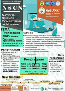Lomba National Science Competition of Nursing 2018 Mahasiswa Keperawatan