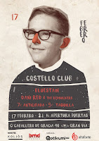 Concierto de Bluestain y Dani Red en Costello Club