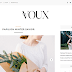 Voux - Minimal & Responsive Blogger Template - Free Instant Download