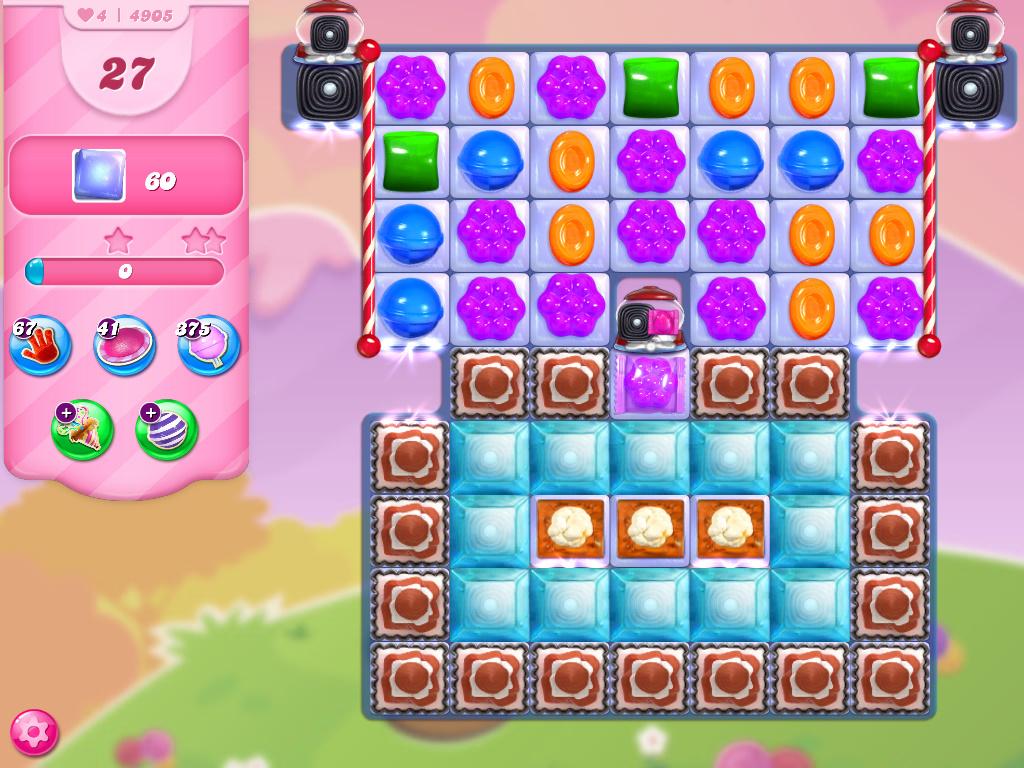 Candy Crush Saga level 4905