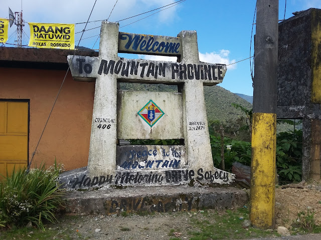 Welcome to Mountain Province