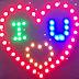 [VIDEO] - Hướng dẫn chi tiết làm trái tim 64 led I Love U