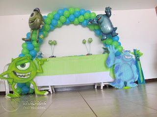 DECORACION MONSTER INC FIESTAS INFANTILES MEDELLIN