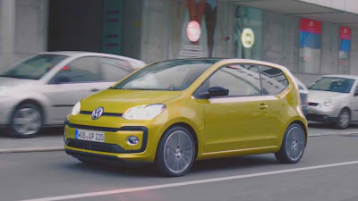 Volkswagen Up! road test hd image