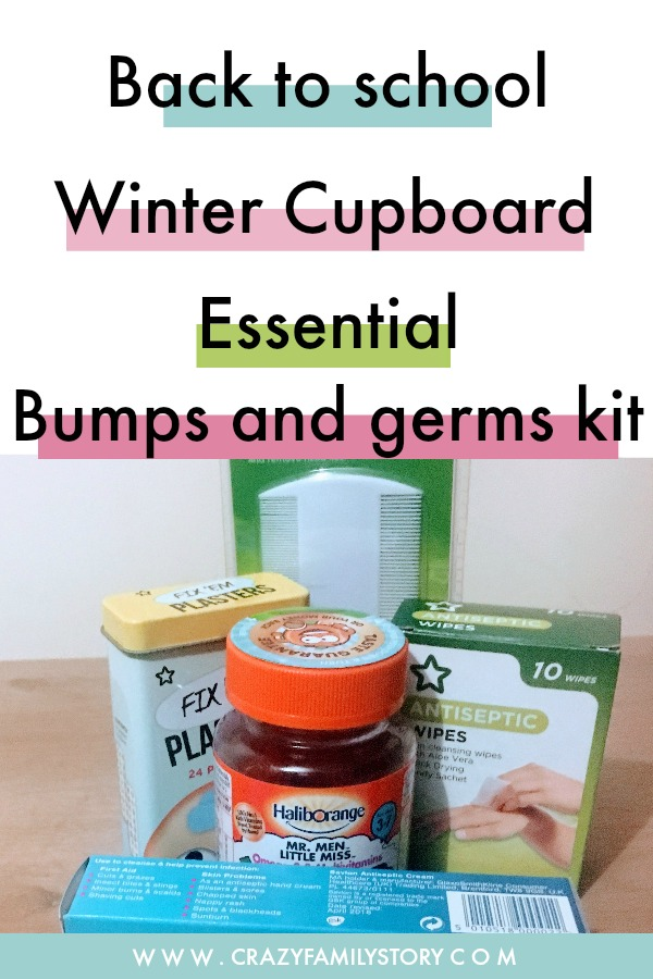 Back to School - Winter Cupboard essential bumps and germs Kit