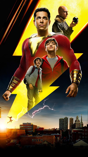 Shazam 2019  HD Movie Dual Audio Hindi+English  720p & 480p free download