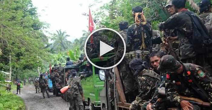 WATCH: Abu Sayyaf, Napaatras Nang Muling Makabakbakan Ang Militar