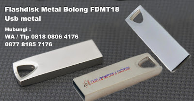 USB Metal Slim FDMT18, USB Metal Bolong, Flashdrive Metal Bolong, Flash Disk Metal Slim FDMT18, Flashdisk Tutup Botol, Usb Promosi jenis metal yang berlokasi di Tangerang
