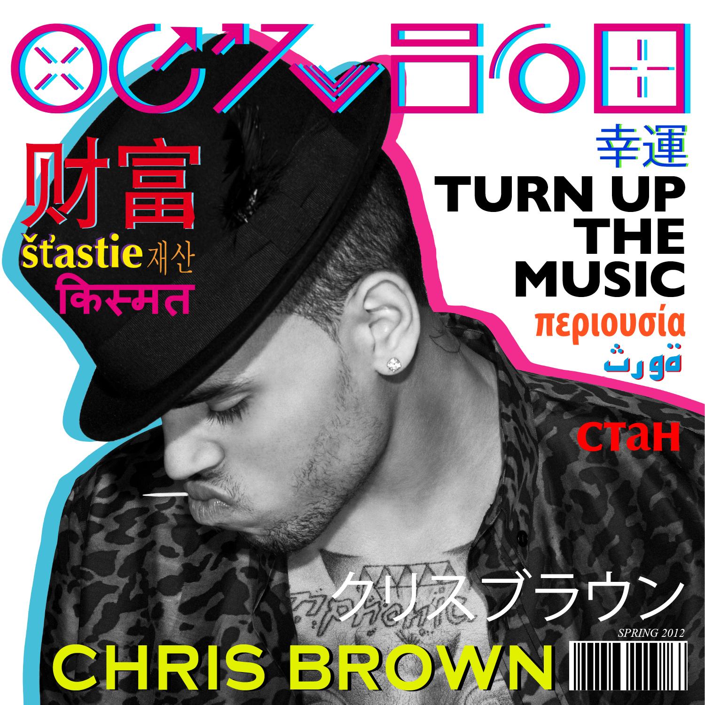 chris brown turn up the music -#main