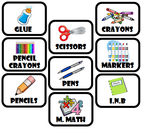 classroom supply labels, free classroom supply labels, classroom supplies printable