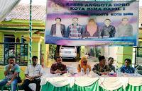 Anggota DPRD Dapil Asakota Awali Reses di Kelurahan Jatiwangi dan Kolo