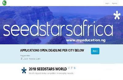 Seedstars World Competition 2018 for High Growth Startups & Entrepreneur