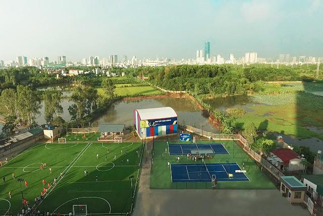 Khu thể thao phức hợp và cây xanh