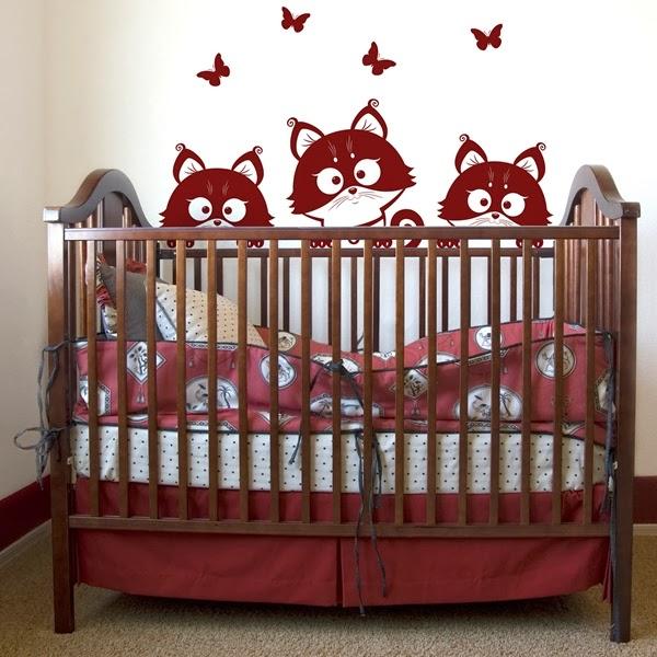 vinilos infantiles para paredes