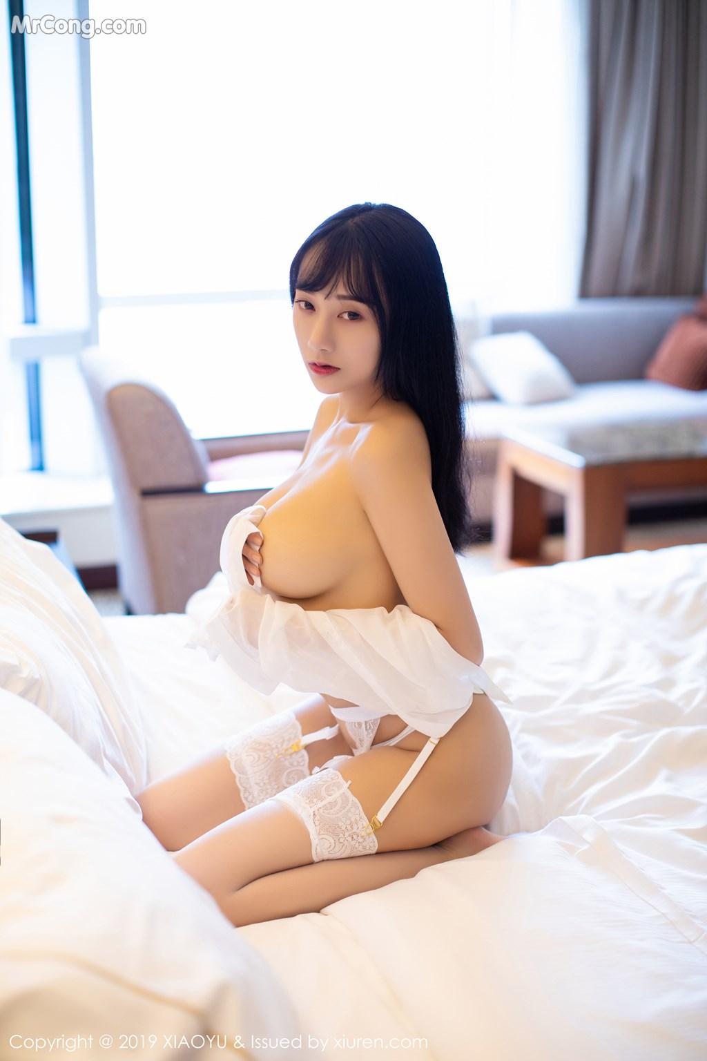 Image XiaoYu-Vol.076-He-Jia-Ying-MrCong.com-064 in post XiaoYu Vol.076: He Jia Ying (何嘉颖) (72 ảnh)