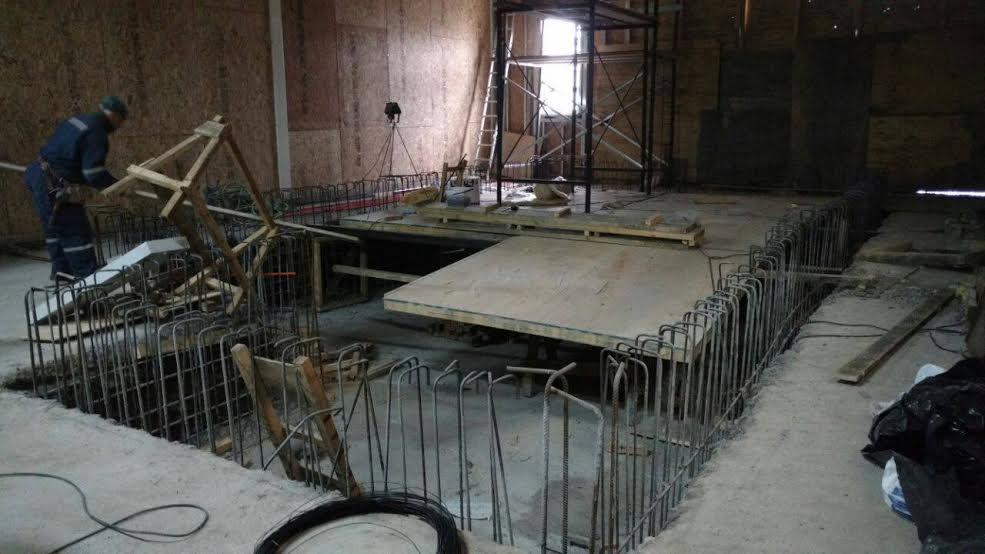 Nueva piscina terapéutica de Parral presenta importante estado de avance