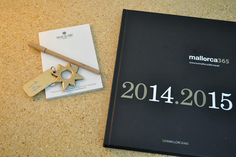 Hotel Palau Sa Font Keys and design book