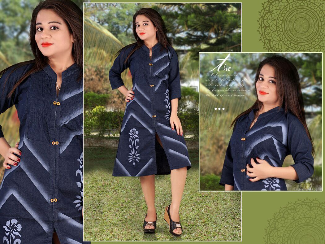 Titha Vol 1 – Heavy Denim Party Wear Designer Kurti