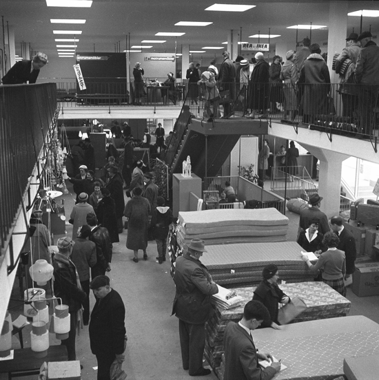 IKEA first store 1959 - interior