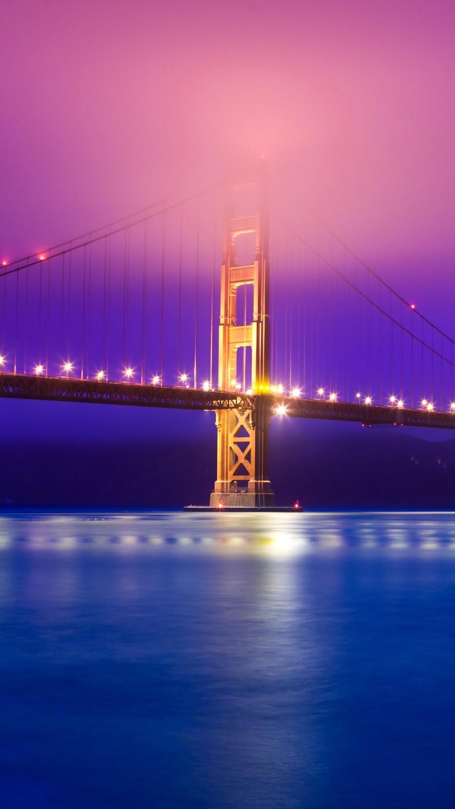 Papel de parede grátis Ponte Golden Gate São Francisco para PC, Notebook, iPhone, Android e Tablet.