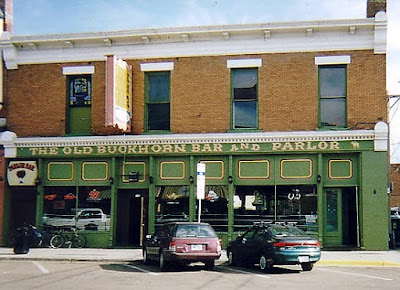 The Parlor Bar is upstairs from Laramie's famed Buckhorn Bar