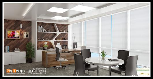 Office Md Cabin Design In Dubai