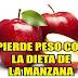 Perder peso en 3 días manzana
