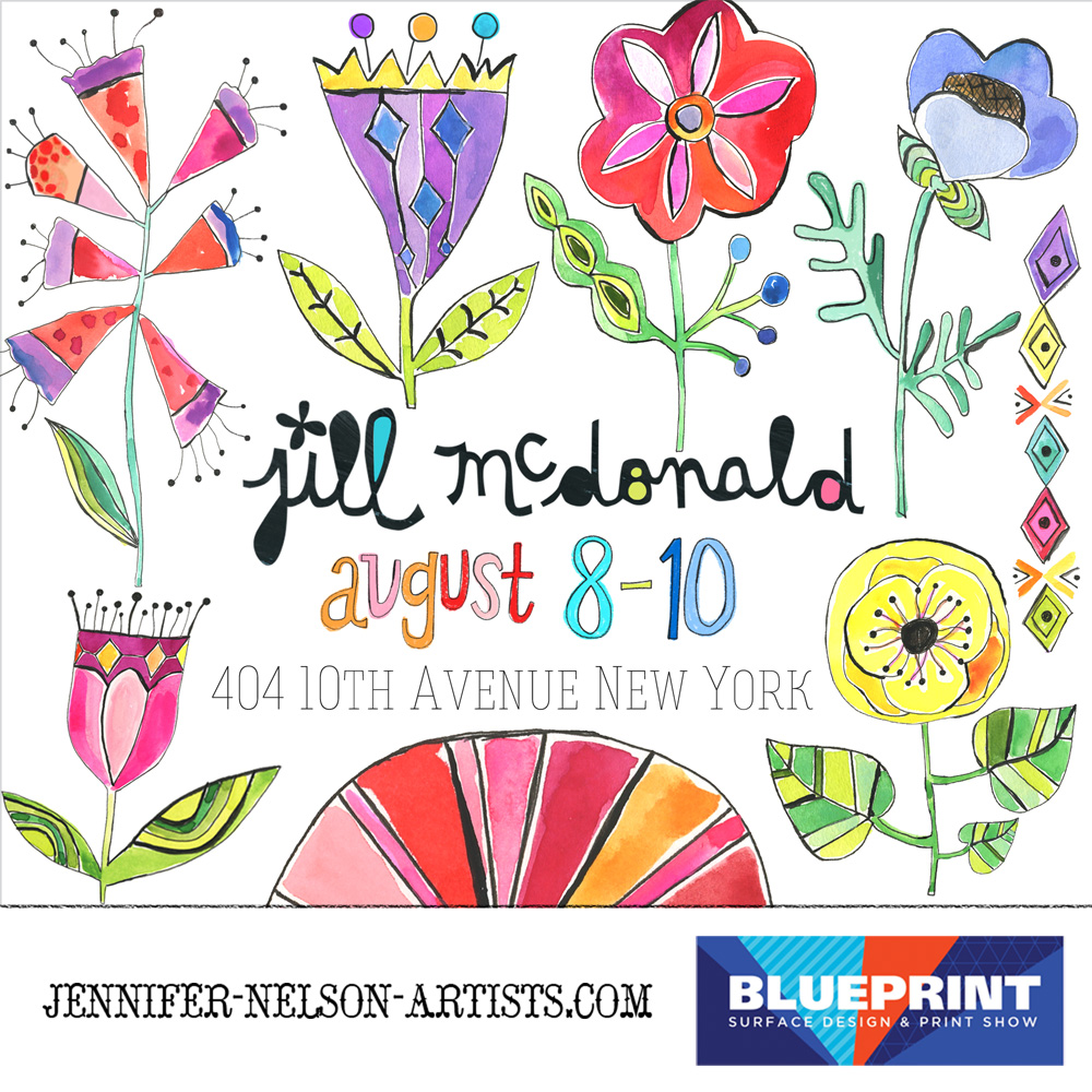 Show and tell blueprint the blueprint show is just around the corner august 8th 10th in nyc if your looking for fresh exciting art stop by jennifer nelson artists booth malvernweather Gallery