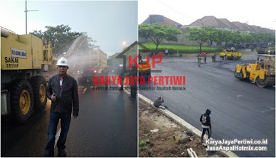 Kontraktor Pengaspalan Bandung, Jasa Aspal Hotmix Bandung