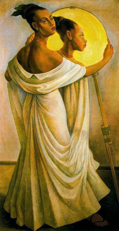 Retrato de Rute Rivera - Diego Rivera e suas principais pinturas ~ Muralismo mexicano