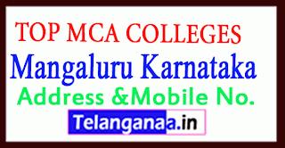 Top MCA Colleges in Mangaluru (Mangalore)
