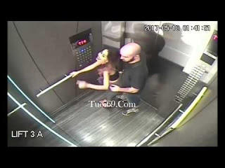 Clip: Quay lén cảnh trong thang máy, Nữ chính nứng lắm rồi đây^^
