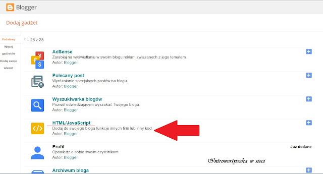 Dodajemy czcionki Google na Blogspot