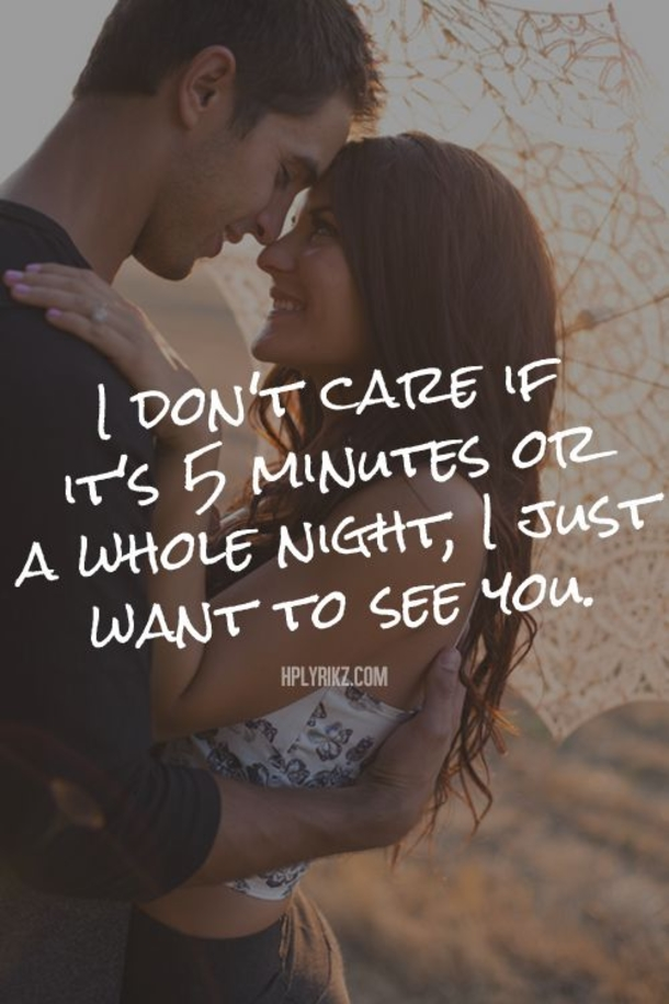 I Just Want To See You Sweet Valentines Day Quotes And Sayings