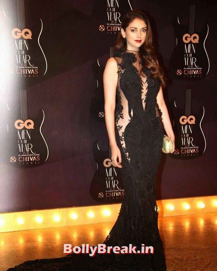 Aditi Rao Hydari, Red Carpet Pics of GQ Men Of The Year Awards 2014