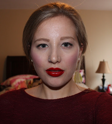 L'Oréal Infalliable Pro-Matte Gloss in Shanghai Scarlet