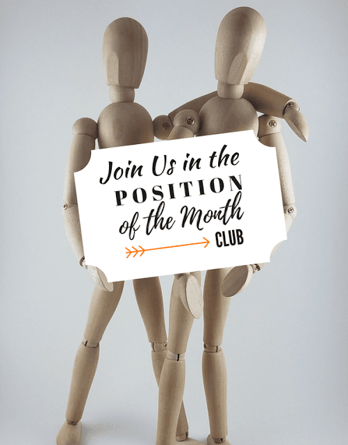 The Position of the Month Club is one of my tried and true awesome online marriage clubs. You should always be working on your marriage even if it's going great right now!