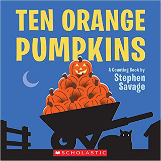 Ten Orange Pumpkins book- perfect for fall
