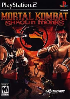 Capa do jogo Mortal Kombat: Shaolin Monks PS2 site: JSV