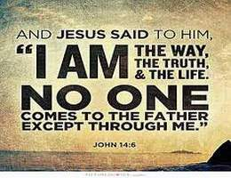 JESUS IS THE WAY OF LIFE