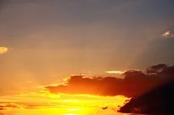 Goldene Abendsonne...