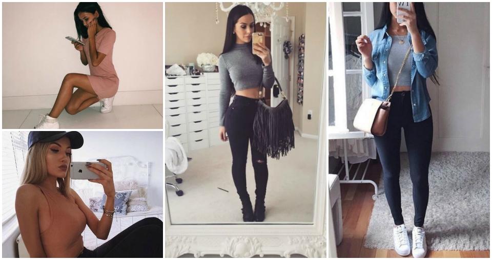 Look estilo baddie, estilo das gringas, estilo baddie, gringas tumblr, tumblr girl