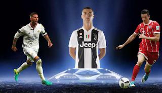 مواعيد مباريات اليوم الأربعاء 19-9-2018  في دوري أبطال أوروبا والقنوات الرياضية الناقلة للمباريات