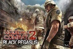 Modern Combat 2 Black Pegasus HD Apk+Data