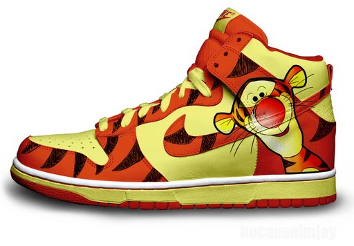 Tigger Nike Shoes For Sale