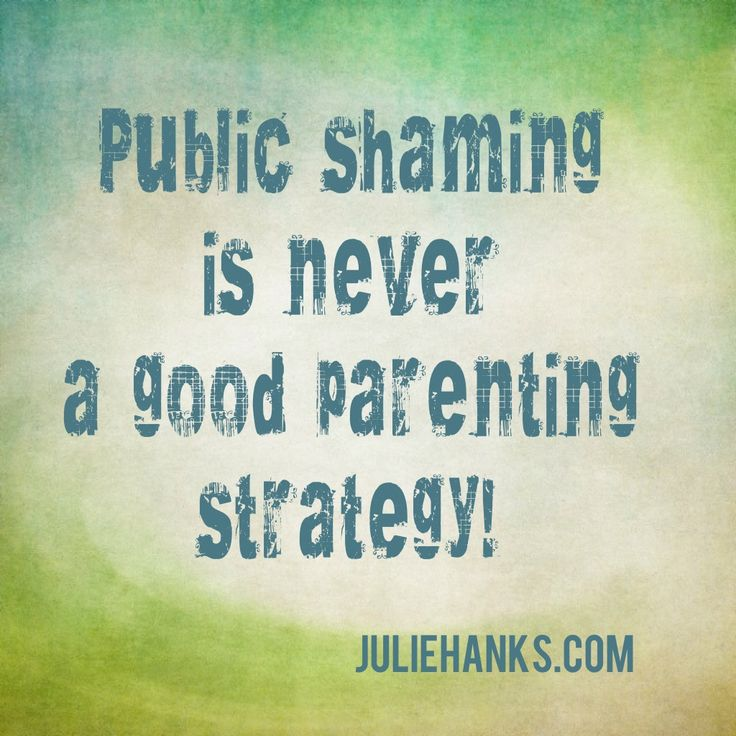 Narcissist Problems: public shaming