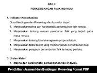 Pendidikan Jasmani dan Bimbingan Konseling Format PDF