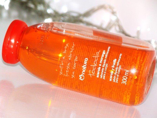 Sabonete Líquido Acerola e Morango Natura Tododia