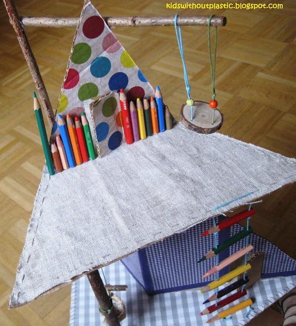 kartonowy domek dla lalek diy